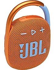 JBL CLIP4 Bluetooth音箱 USB C充電/IP67防塵防水/搭載無源輻射器/便攜/2021年款 橙色 JBLCLIP4ORG 【國內正規品/制造商保修1年】