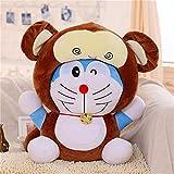Doraemon Animal Crossing Peluche de Juguete Vestir Animales Anime Peluches Muñeca de Peluche para niños Almohadas Niños Niños Regalo de cumpleaños 40cm B