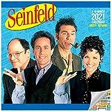 Seinfeld Calendario 2021 - Calendario de pared de lujo 2021 Seinfeld con más de 100 pegatinas de calendario (TV de los 90, suministros de oficina)
