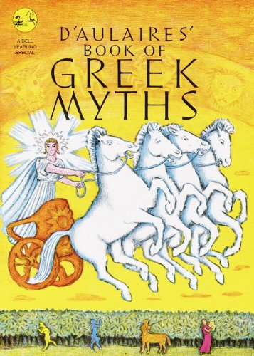 D'Aulaires' Book Of Greek Myths (Turtleback School & Library Binding Edition)