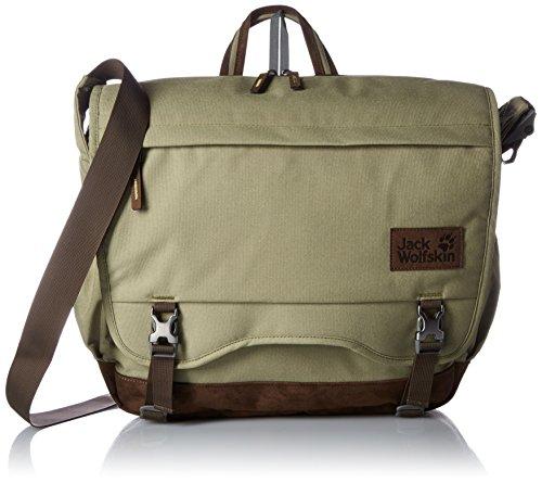 Jack Wolfskin Camden Note Messenger Bag, Khaki, 16 l