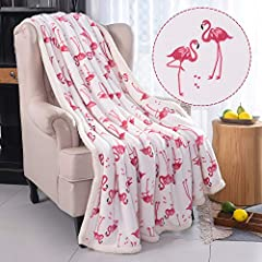 Extra thick: 100% Microfiber Throw,Super soft silky luxurious touch,durable,Suitable for All Seasons,450GSM. Easy care: Wrinkle and fade resistant, machine wash(cold), tumble dry. Sizes and Colors: Gorgeous pattern design, Navy and white colors avaia...