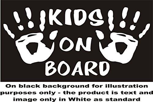 Kinder, Kind, Kids hands on Board