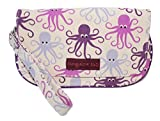 Bungalow 360 Vegan Natural Canvas Wristlet (Octopus)