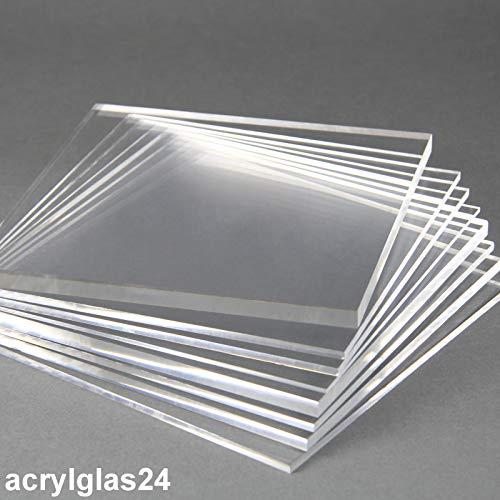 Acrylglas Zuschnitt Plexiglas Zuschnitt 2-8mm Platte/Scheibe klar/transparent (5 mm, 1200 x 800 mm)