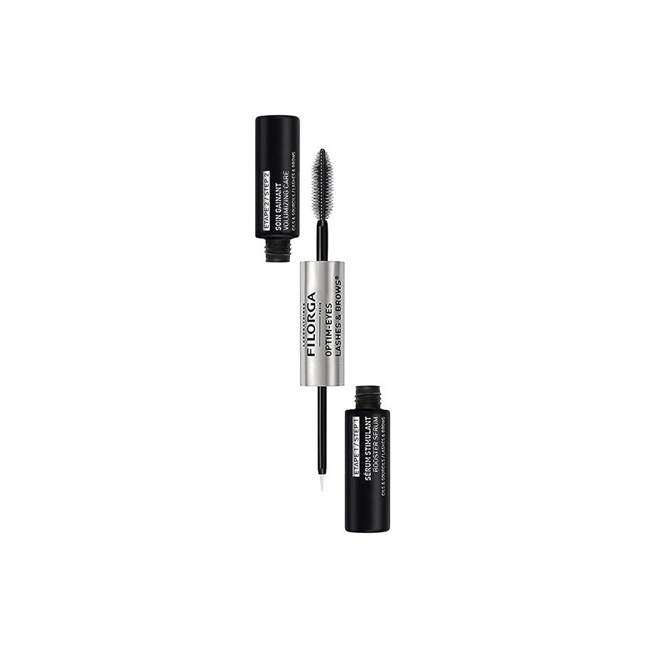 余剰成熟役立つFilorga Optim-eyes Lashes & Brows 2x6,5ml [並行輸入品]