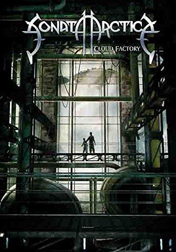 Sonata Arctica – Cloud Factory – poster drapeau 100% polyester – Taille 75 x 110 cm