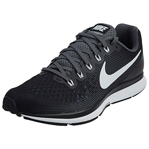 Nike Air Zoom Pegasus 34 Mens Running Shoes 887009 001 (Black/Dark Grey/Anthracite/White, 12 D(M) US)