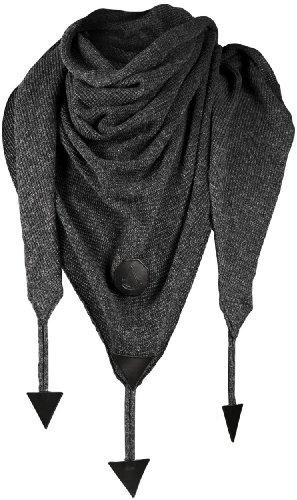 Black Flag Collection - Black Scarf Grigio scuro mélange taglia unica