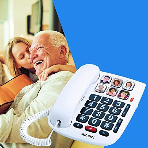 Alcatel Max 10 - Teléfono cable personas mayores