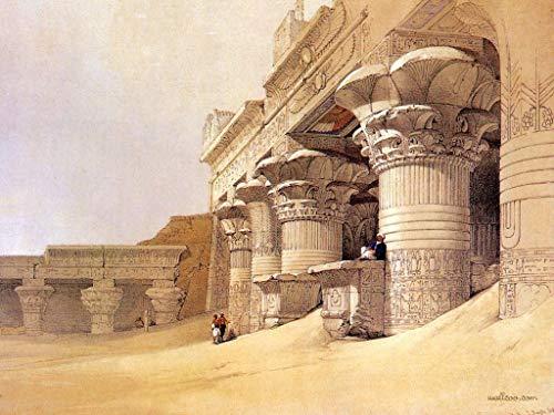 Puzzles De Madera 1000 Piezas Rompecabezas Clásico - Antiguo Templo Egipcio De Eva - Trick Toy Gift Para Niños Y Adultos Challenge