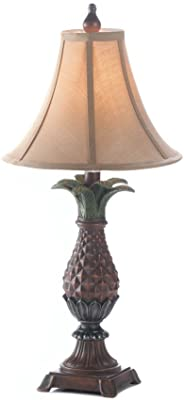 Verdugo Gift 10017183 Pineapple Table Lamp 11 Quot X 11 Quot X 23 5 Quot Multicolor Amazon Com