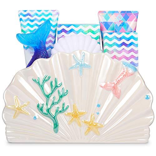 Geschenke für Frauen,7Pcs Witzige Geschenke für Frauen mit Ocean Scent,Beinhaltet Decklack polnisch,Nagelfeile,Handlotion und Mehr,Wellness Set für Frauen