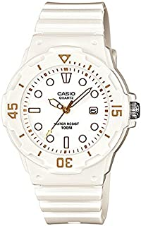 Casio Women's White Dial Resin Analog Watch - LRW-200H-7E2VDF