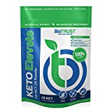 BioTrust Keto Elevate, Pure C8 MCT Oil Powder, Ketogenic Diet Supplement, Keto Coffee Creamer, Clean Energy, Mental Focus and Clarity, 100% Caprylic Acid (20 Servings)