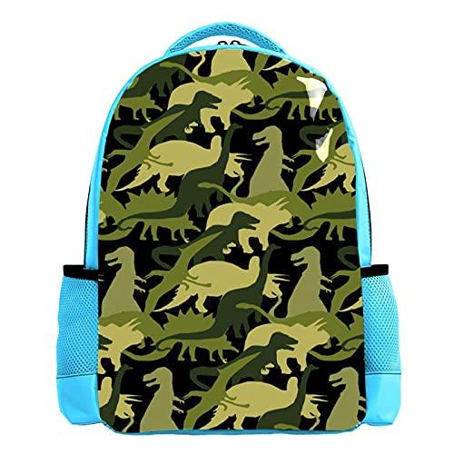 Mochila divertida con diseño de estrella de mar de tortuga y cangrejo del mundo del océano para niños, mochila escolar duradera y casual para niñas y niños de 26,6 x 20 x 42 cm, 15 (Multicolor) - W01