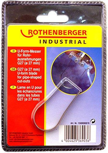 Rothenberger Industrial 1500000070 Schneidemesser für Rohre bis durchmesser 27mm, 1500000062