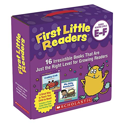 Compare Textbook Prices for Scholastic First Little Readers Parent Pack: Guided Reading Levels E & F Box Edition ISBN 9781338256574 by Charlesworth, Liza