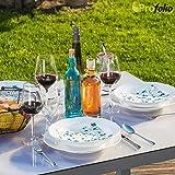 Originale Tischdecke Tischfolie Glastisch & Hochglanztisch keine Luftblasen abwaschbar 160 x 90 cm +