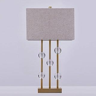 Lampe de Table Lampe American Retro Lights Décoratif Modèle Hotel Moderne Salon Chambre à Coucher Lampe de Chevet Crystal ...