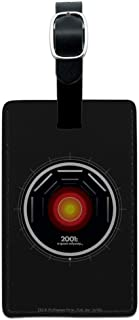 2001: A Space Odyssey Hal Rectangle Leather Luggage Card Carry-On ID Tag