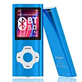 MYMAHDI Bluetooth 5.0 MP3 / MP4 Player with 32GB Memory Card, 1.8'' LCD Screen, Support Up...