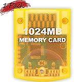 Ssgamer Memory Card 1024MB(8192 Blocks) for Nintendo Wii Game Cube NGC Gc