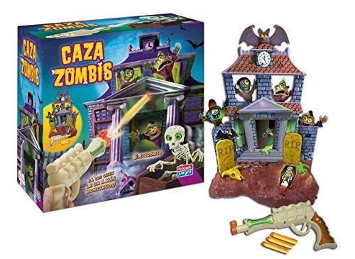 Juguetes Falomir- Juego Caza Zombis con Pistola Laser, Multicolor (27270)