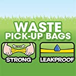Bags On Board Dog Poop Bags | Strong, Leak Proof Dog Waste Bags | 9 x14 Inches, 315 Blue Bags 12