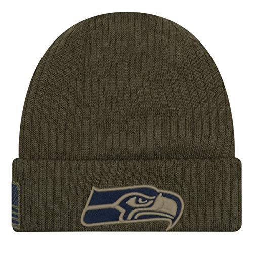 New Era Salute to Service Wintermütze - Seattle Seahawks