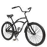 Best Beach Cruiser Bikes - Knus Beach Cruiser Bike,26 inch Urban Single Speed Review
