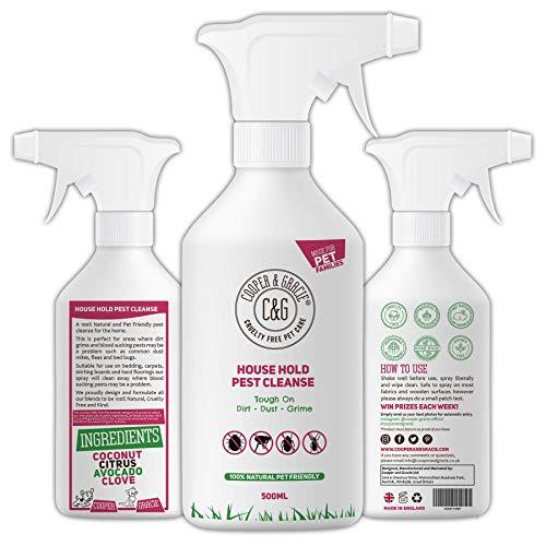 C&G Pets | HOUSE HOLD PEST CLEANSE 500ML | ELIMINATES FLEA BEDBUG MITE |...
