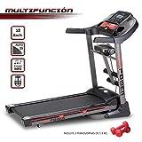 NEWPOWER Workout Laufband mit automatischem Falten, 12 km/h, 12 Programme, MP3, 15 automatische...