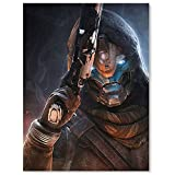 Wall Murals For Bedroom Famous Paintings Destiny 2 Cayde 6 Wall Art Canvas Pictures For Wall Decor Posters 18x24inch