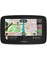 TomTom navigatie GO 520, 5 inch met handsfree bellen, Siri, Google Now, updates via Wi-Fi, TomTom Traffic via smartphone en wereldkaarten, smartphoneberichten, capacitief scherm
