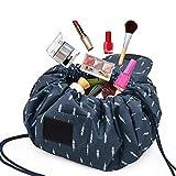UFLIZOGH Trousse de Maquillage portable Sac de toilette paresseux Cosmétique Grande Capacité...