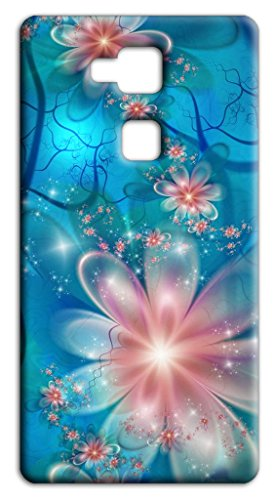 Mixroom - Cover Custodia Case in TPU Silicone Morbida per Huawei GT3 / Honor 5C Q245 Fantasia a Fiori