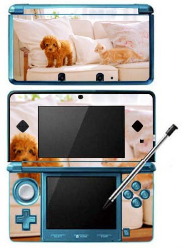 Nintendogs and Cats Game Skin for Nintendo 3DS Console