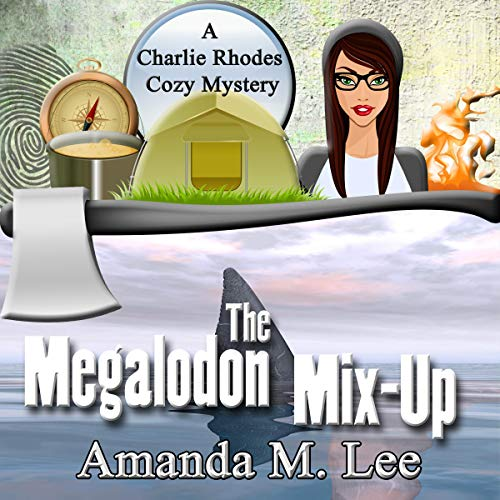 The Megalodon Mix-Up audiobook cover art