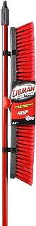 LIBMAN 805.0 Push Broom with Resin Block, Medium Duty Bristles, 24