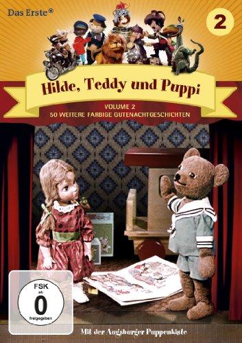 Hilde, Teddy und Puppi, Staffel 2 (Weitere 50 Folgen des Klassikers der Augsburger Puppenkiste auf 2 DVDs)