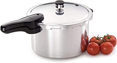 Presto 8-Quart Aluminum Pressure Cooker, Silver
