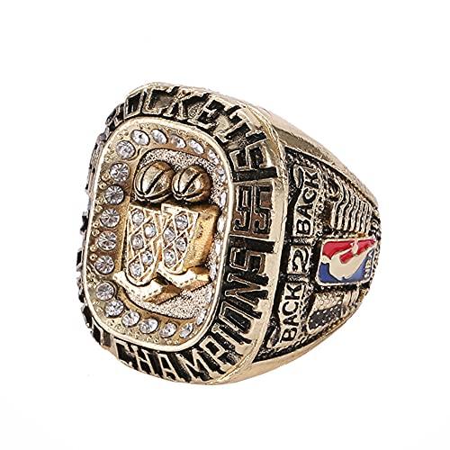 TYTY Basketball NBA 1995 Houston Rockets Championship Ring Anillos de Campeonato, Campeones réplica para Aficionados del Recuerdo de la colección del Regalo,with Box,13#