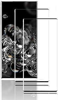 XCYYOO Verre Trempé pour Samsung Galaxy Note 20 Ultra, [2 pièces][3D Incurvé Couverture Complète][Anti Rayures][sans Bulle...