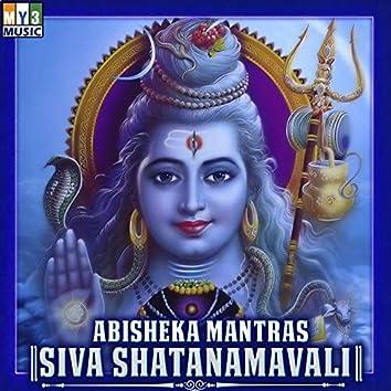 Abisheka Mantras Siva Shatanamavali
