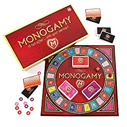 Monogamy board game for couples date night at home