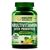 Himalayan Organics Multivitamin for men & women with 40 ingredients - 180 Tablets