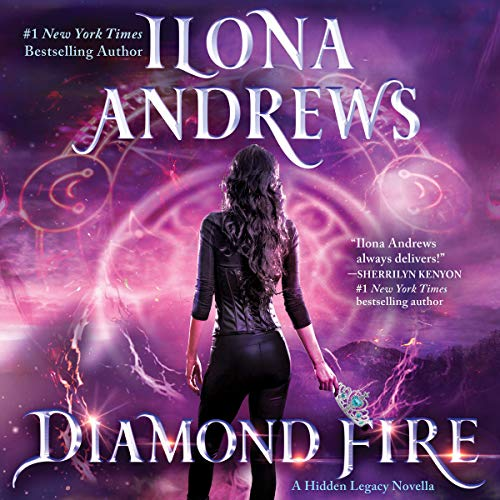 Diamond Fire audiobook cover art