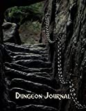 Dungeon Journal: For DMs & Gamers, Ruled & Grid Paper for Campaigns, Mapping and World Building