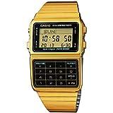 Casio DBC-611G-1 Gold Memory Calculator Databank Watch